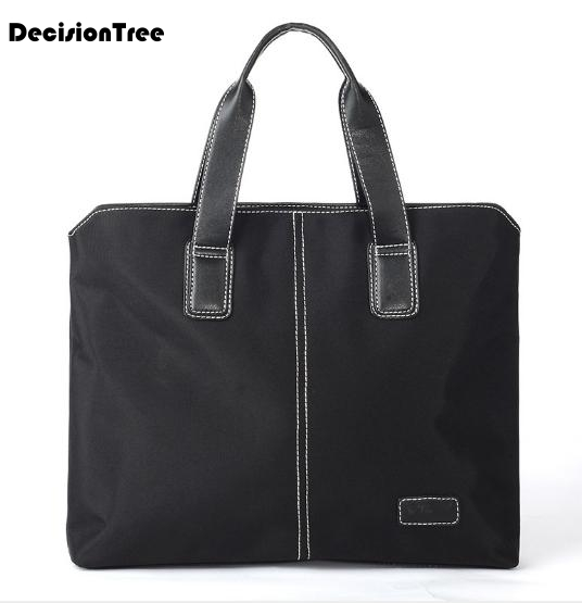High Quality Handle Soft Men Messenger Bags Men Business Briefcases Office Bags  Travel Business File Package Laptop Bags LFB48