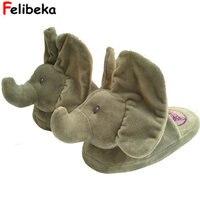 جديد نظرة خاطفة بو لعبة محشوة الحيوانات الفيل الفيل النعال النعال المنزل أفضل هدية لجهودكم الشخص المحبوب