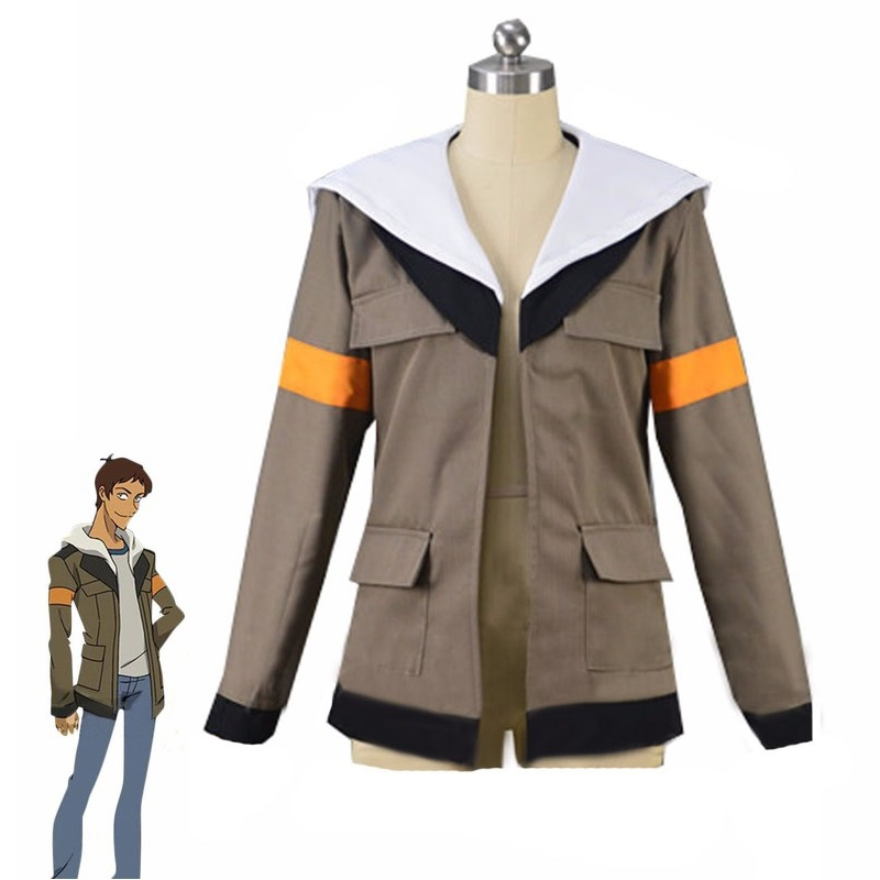 2018 Voltron Legendary Defender Cosplay Costume Lance Hooded Jacket Halloween Carnival Top Coat Custom Made