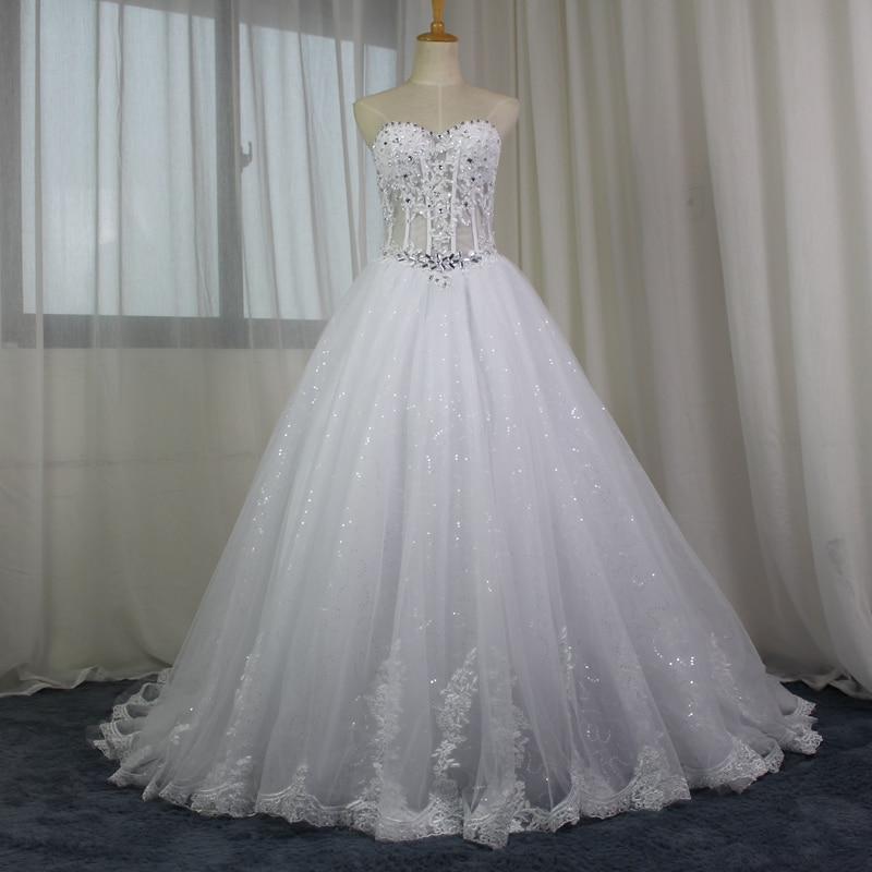 असली छवि ए-लाइन शानदार - शादी के कपड़े