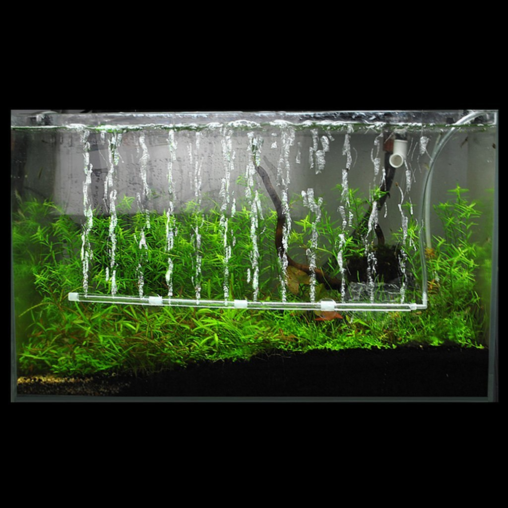 60cm Length Fish Tank Aquarium Air Stone Bubble Wall Aeration Tube Oxygen Pump Diffuser High Efficiency Without Pollution