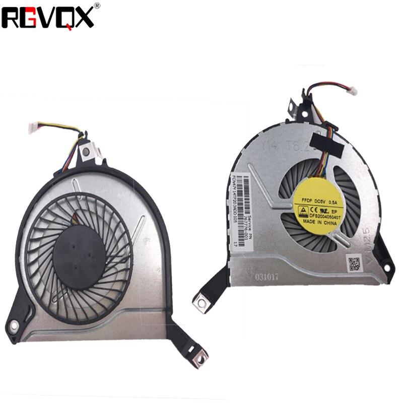 Купить с кэшбэком New Original Laptop Cooling Fan For HP ENVY 15-K Series PN:KSB0705HBA05