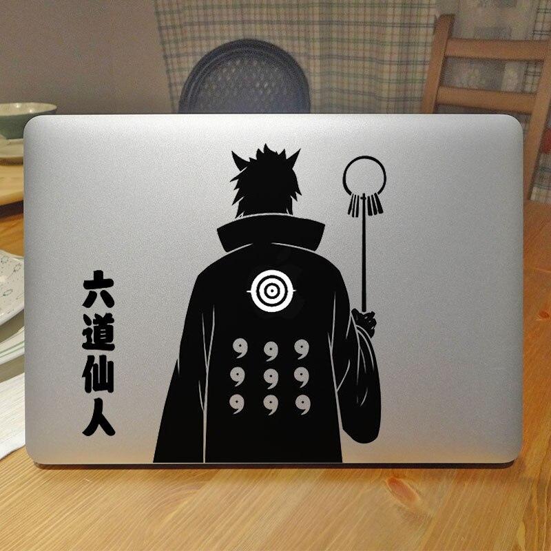 Glowing Naruto Laptop Sticker For Apple Macbook Pro Retina