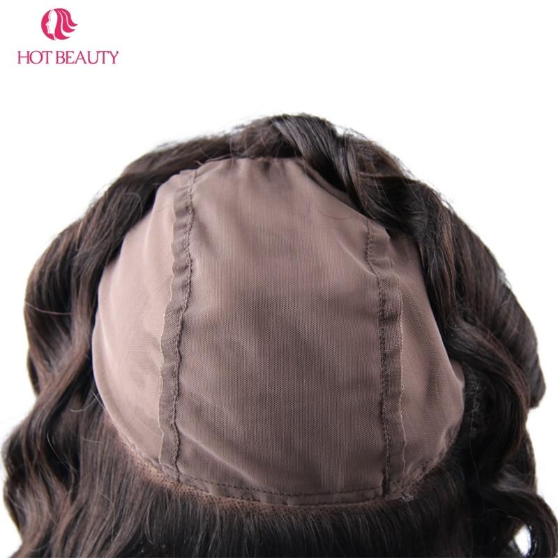 Гарячі волосся краси 360 мереживо - Людське волосся (чорне) - фото 6