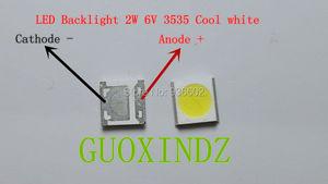 Image 1 - WOOREE  LED Backlight    High Power LED  2W  6V  3535  150LM Cool white  WM35E2F YR09B eA  LCD Backlight for TV   TV Application