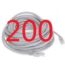 200 #2018 kabel High Speed 1000 mt RJ45 CAT6 Ethernet Netzwerk Flache Lan-kabel UTP Patch Router Kabel