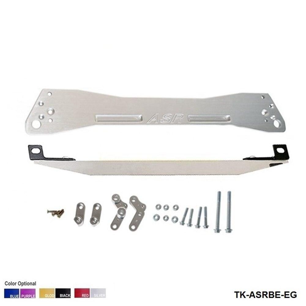 REAR SUBFRAME BRACE & BEAKS TIE BAR Fit For CIVIC EG 88-95 (other color: red.blue,golden,purple,black) TK-ASRBE-EG