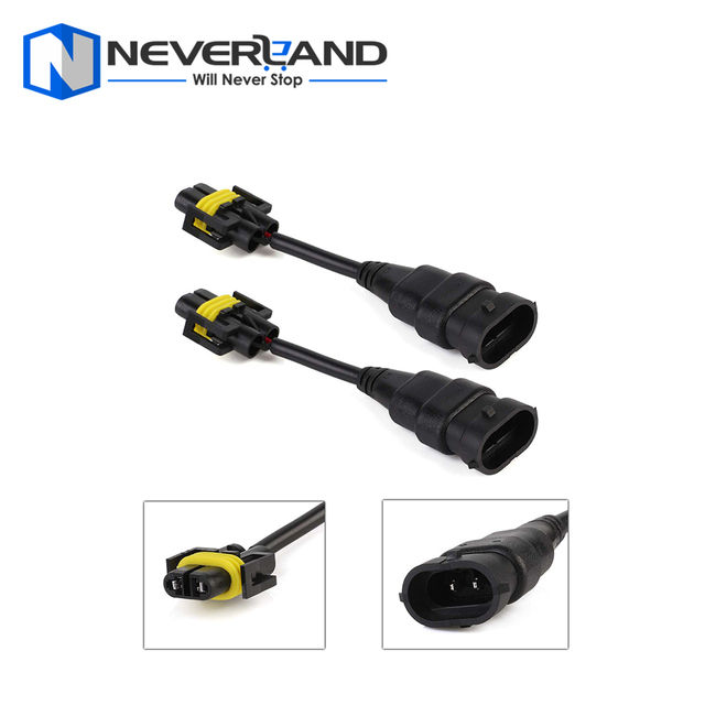 New PVC plastic Nylon Plugs H11 H8 Extension Wiring Harness Sockets Wire lamp Connector For Headlight_640x640 aliexpress com buy new pvc plastic nylon plugs h11 h8 extension nylon wiring harness at panicattacktreatment.co