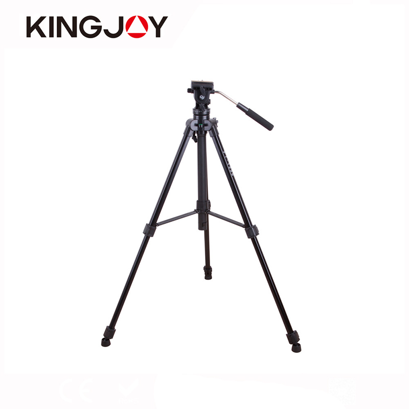 KINGJOY Professional DSLR Camera Stand Tripod Gorillapod Digital Video Camera Tripe Aluminum Tripode For Canon Nikon SONY Pentax lightweight aluminum mini tripod 4 sections universal camera tripod camera stand photo tripod gorillapod tripe