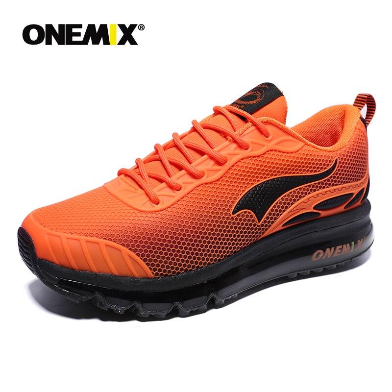 ONEMIX chaussures de course pour hommes respirant maille femme Sport baskets chaussure homme hommes Jogging confortable hommes chaussures ventes - 4