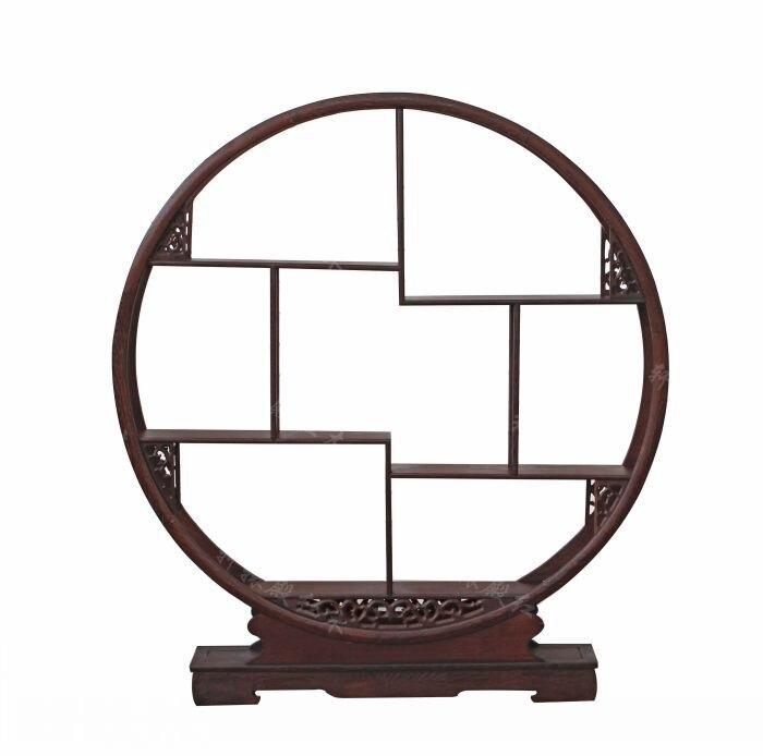 [Регул] Красный храм резная деревянная мебель даббо Гербер древние кадр/венге 80 Круглый Ассорти стойки/чай производители Base