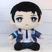 En Stock Detroit Become Human RK800 Connor anime de peluche relleno almohada muñeca Cosplay Prop regalo nuevo(China)