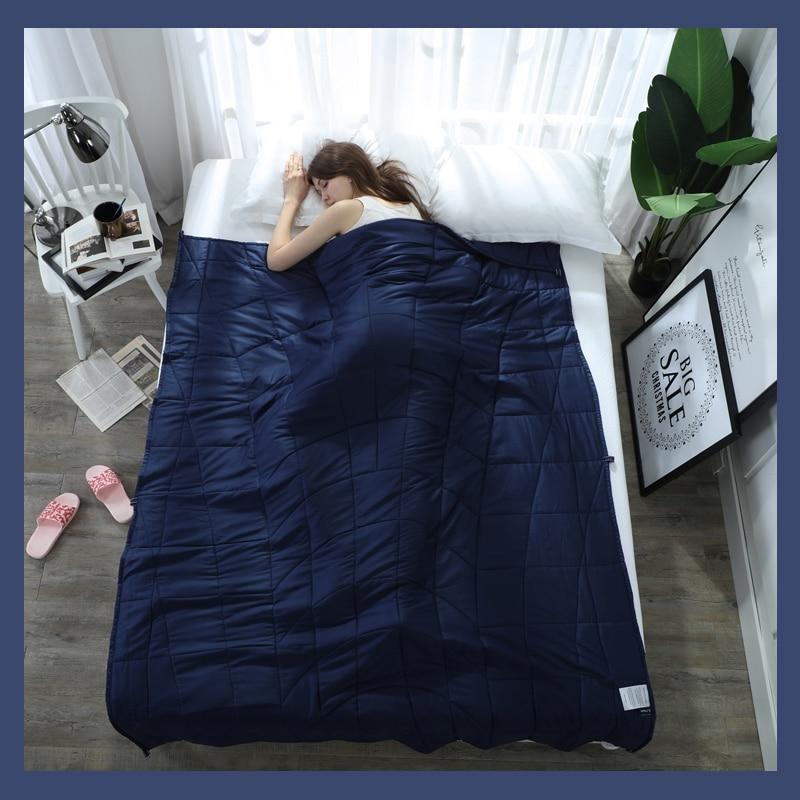 높은 품질 가중 담요 중력 잠자는 담요 감압 퀼트 가중 담요 공기 불면증 컨디셔닝 이불-에서담요부터 홈 & 가든 의  그룹 2