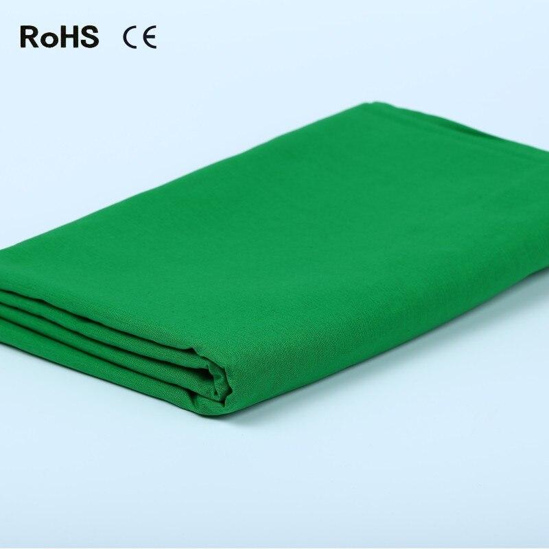 3 M X 6 M coton Chromakey écran vert mousseline photo toile de fond toile de fond pour studio d'éclairage Photo