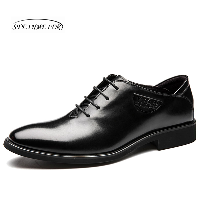 aliexpress.com - 2018 men Luxury Genuine Leather Lace Up Modern Men Brogue  Shoes Party Wedding Suit Formal Footwear Male Dress Shoes - imall.com 375801c1344f