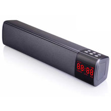 f50b190ecaf Portable Wireless Bluetooth Speaker Stereo HIFI 10W Subwoofer Card Speaker  Phone Computer TV Speaker Portable Music