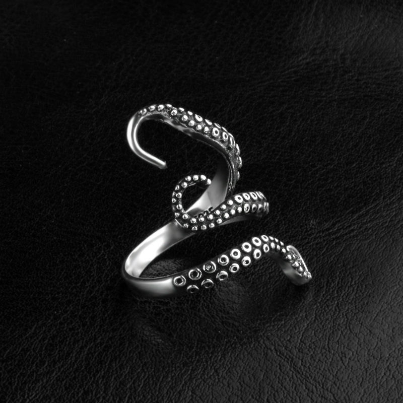 black-titanium-octopus-ring-for-men-and-women-3