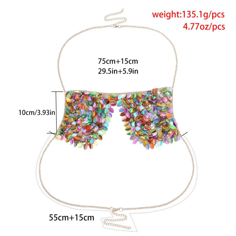 HTB1PC9ipf5TBuNjSspcq6znGFXaE Shiny Sequins Body Chain Bralette
