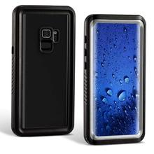 Redpepper Waterproof Case for Samsung Galaxy S9 IP68 Shockproof Snowproof Dirtproof Protect For Phone