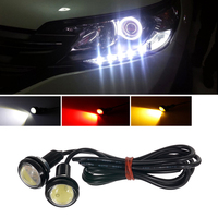 Eagle Eye Liplasting 10x 9W 23mm DRL Eagle Eye Car Fog Daytime Reverse Parking Signal LED