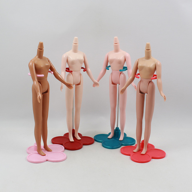 Free Shipping Blyth Nude Doll Body Parts Model Female Body Suit For