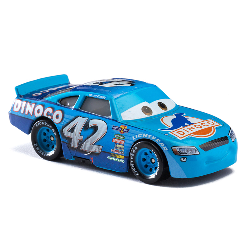 Disney Pixar Cars 2 3 No 42 Racing Car Lightning McQueen Jackson Storm Cruz Mater 1 55 Diecast Metal Alloy Model Car Toy Gifts in Diecasts Toy Vehicles from Toys Hobbies