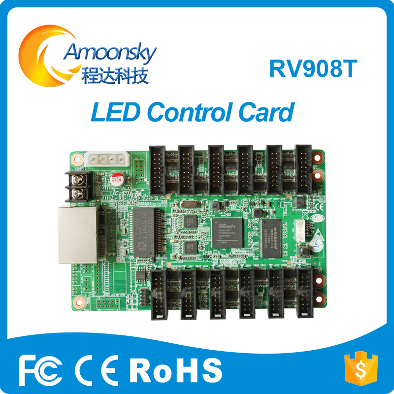 Linsn Rv908t Receiving Card Linsn Receiver Support Linsn Studio For Full Color Led Display