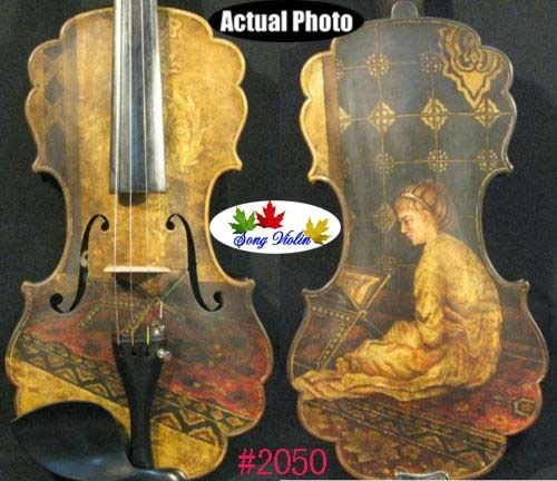 Beautiful SONG Brand Maestro baroque drawing violin 4/4 #2050 image