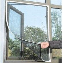 DIY москитная сетка от насекомых, мух, насекомых, москитная сетка на дверь, окно, сетка, сетка для экрана, занавеска, протектор, экран от мух, по всему миру