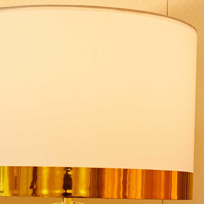 미국 복고풍 빛 럭셔리 성격 금속 테이블 램프 북유럽 미니멀 디자인 패션 테이블 램프 거실 침실