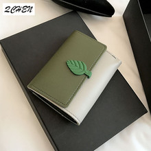 Women Wallets Small Fashion Brand Leather Purse Ladies Card Bag Short Wallet Women Clutch Women Female Purse Money Clip 266 цена