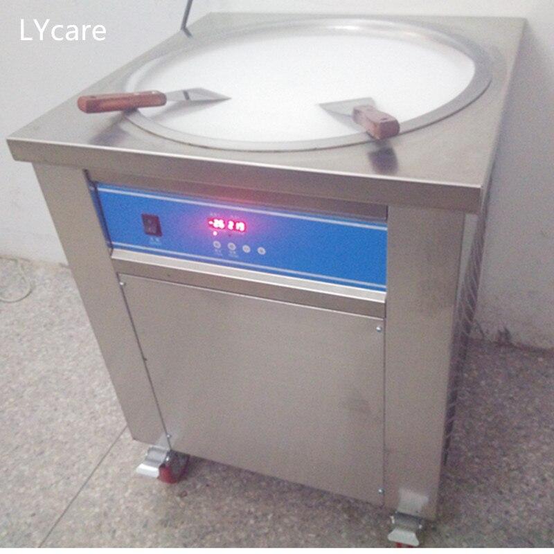 110V Round Pan fried ice cream roller machine US free shipping