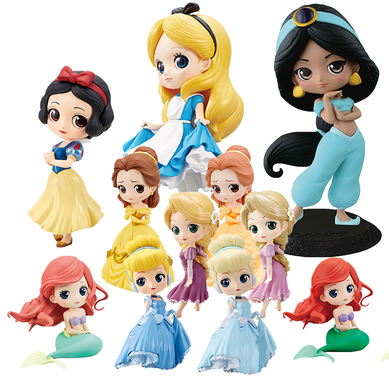 Action Characters Princess Aurora Alice Wonder Woman Harley Quinn Anna Elsa Doll PVC QPosket Snow White Anime Figure Toys DolAction Characters Princess Aurora Alice Wonder Woman Harley Quinn Anna Elsa Doll PVC QPosket Snow White Anime Figure Toys Dol