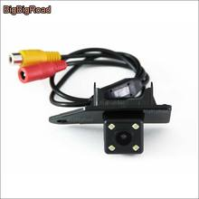 For Mitsubishi ASX 2011--2016 Car Rear View Reverse Backup Camera HD CCD Night Vision parking camera in License Plate Light Hole накладка заднего бампера mitsubishi mz576692ex для mitsubishi asx 2016