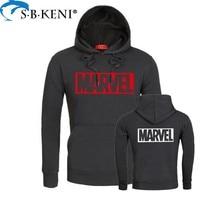 Newest Marvel Printed Groot Hoodie Hip Hop Casual MARVEL Sweatshirt Thin Printing Series Coat CO Men