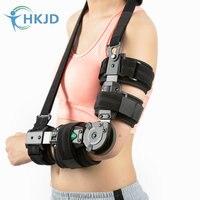 Medical Arm Brace Adjustable Elbow Brace Arm Stretched Straight Cerebral Stroke Hemiplegia Correction Brace Orthotics Tools
