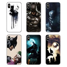 Casos de Escudo do telefone Super Heróis da Dc Comics Batman Bat Man Superman Para Samsung Galaxy Nota 8 9 S9 S10 A8 a9 Star Lite Plus A6S A9S(China)