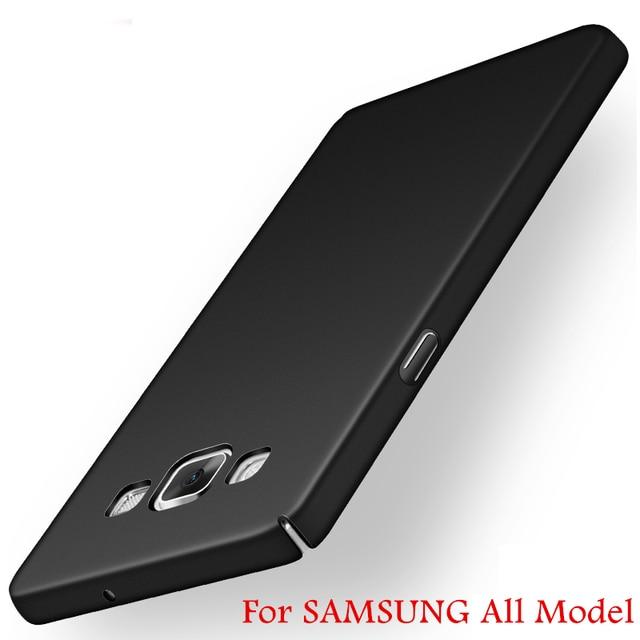 Роскошные Матовый Hard Cover для Samsung Galaxy S7 S6 Edge Plus S5 S4 S3 A3 A5 A7 J1 J2 J3 J5 J7 2016 Grand Prime Case Пластиковые Телефон