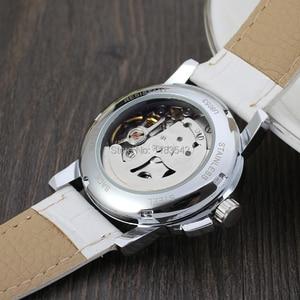 Image 5 - 승자 여성 시계 최신 디자인 시계 레이디 최고 품질 시계 공장 쇼핑 패션 손목 시계 색상 흰색 WRL8011M3S10