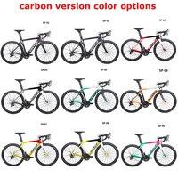 2019 Costelo Speedcoupe углеродного волокна дороги велосипеда полный велосипед с 40 мм колеса группы дешевые велосипед 9 Цвет