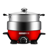 2017 Limited Stainless Pot Cooking Pots Kitchen Appliances Household Electric Cooker Multifunction Steamer Non stick Frying Pan