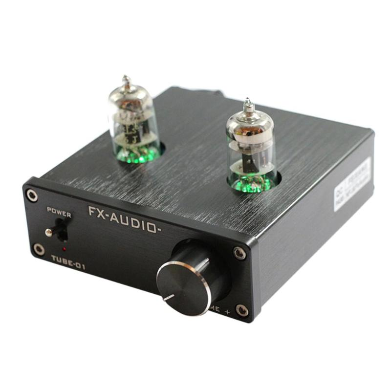 Alloyseed Digital Pre-Amplifier Matching Wonder TUBE-01 Pre-Amplifier 6J1 Tube Turntable Stereo HiFi Buffer Preamplifier 1pcs high quality little bear p5 stereo vacuum tube preamplifier audio hifi buffer pre amp diy new