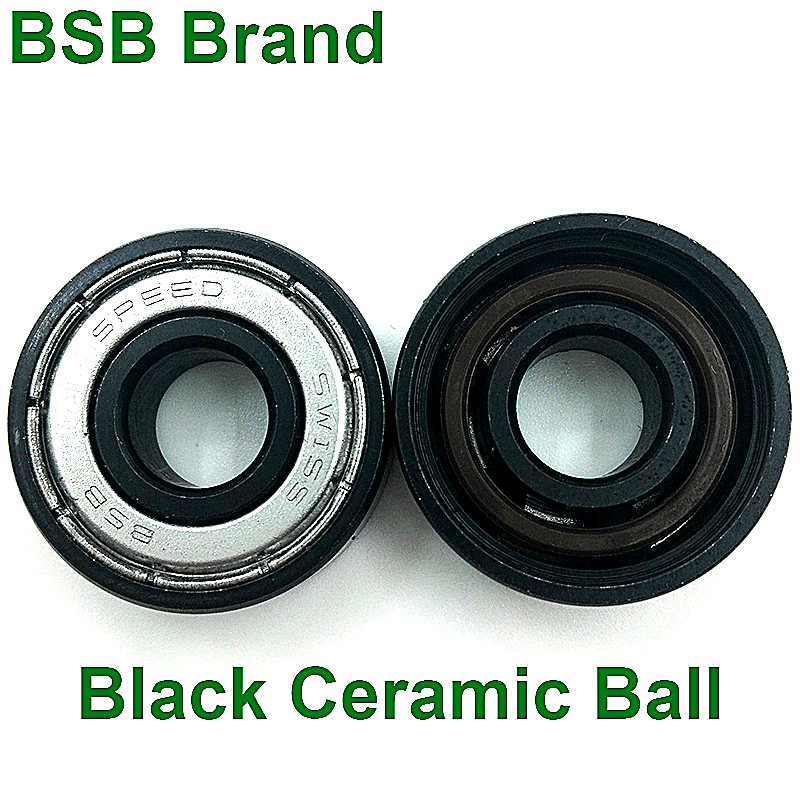 Image 4 - 16pc BSB Swiss Bearing Si3N4 Black Ceramic 6 Ball Skates Skateboard Bearing 608z Longboard Bearing Scooter Roller Skates Bearing-in Scooter Parts & Accessories from Sports & Entertainment