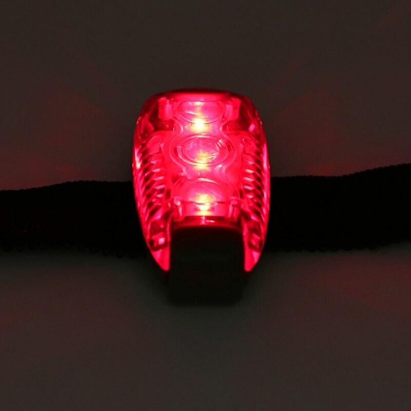 Mini LED Flashlight Wrist Light Lamp With Wrist Band Straps For Kids Dog Pet Running Walk Night Safety Light