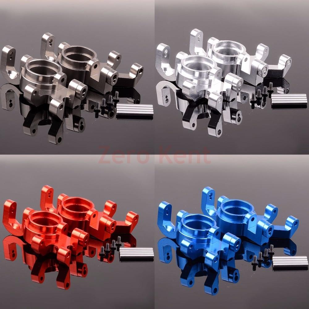 2P Aluminum Steering blocks, left & right 7737 For RC 1/5 Traxxas X Maxx 77076 4