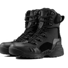High-Top Outdoor Hiking Boots Men And Women Hard-Wearing Combat Desert Shoes Anti-Slip 35-45 Trekking Shoes