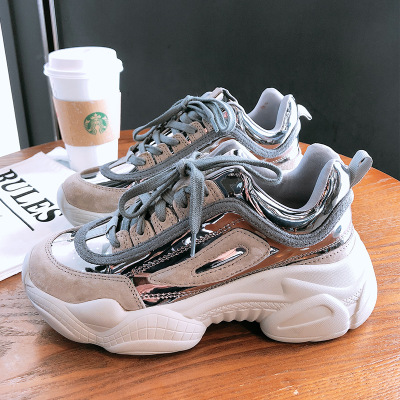 NEW Women Chunky Sneakers Platform