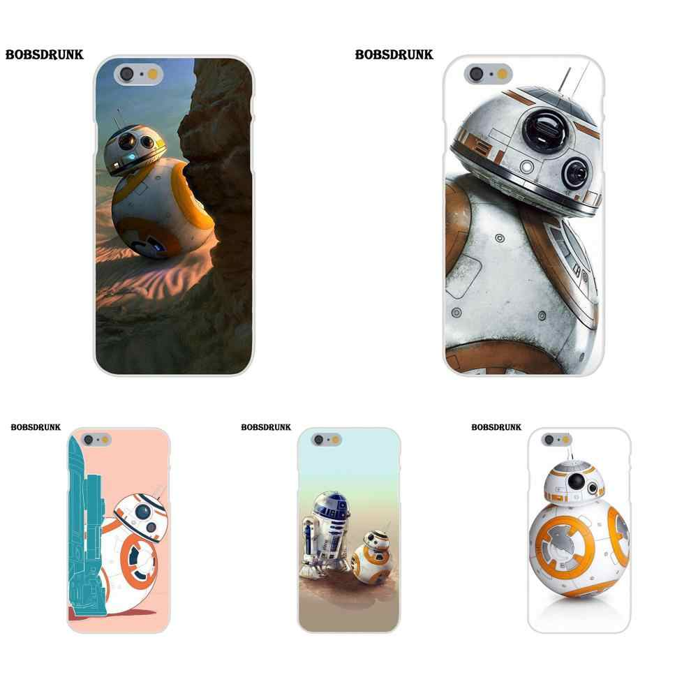 ТПУ с милыми Starwars Bb-8 дроид робот Bb8 S для Iphone 4 4s 5 5C SE 6 6 S 7 8 Plus X для Iphone 4 4s 5 5C SE 6 6 S 7 8 Plus iPhone X