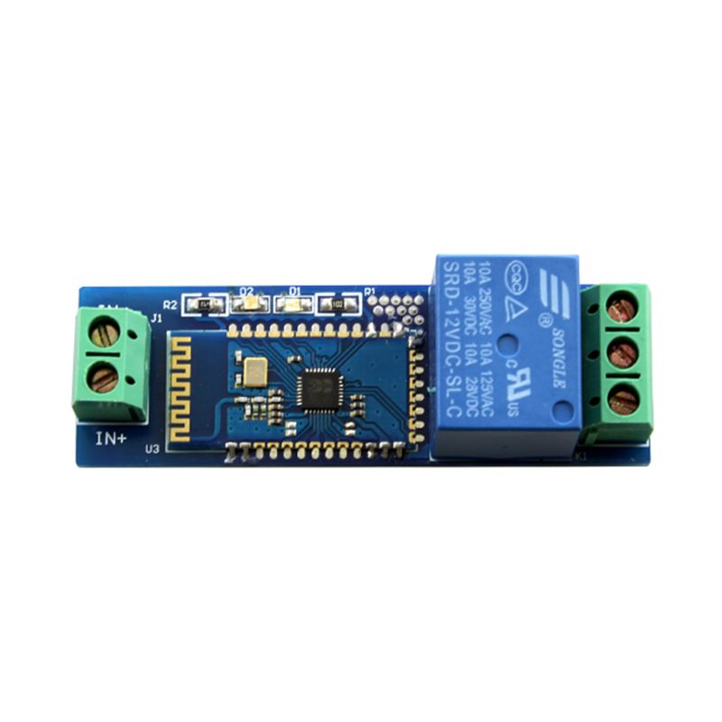 2019 New Relay Internet Bluetooth Module Smart Remote Control Mobile Phone Switch DC12V Wireless Relay Module Component