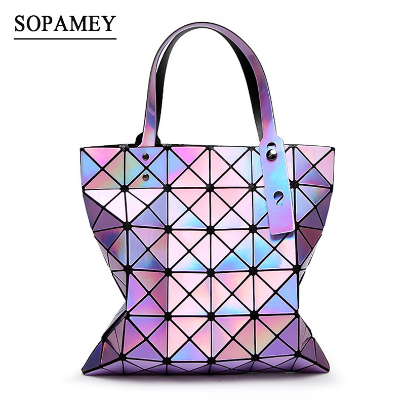 Women Messenger Handbags Bao Bags Female Folded Geometric Plaid Bag BAO Fashion Casual Tote Women Handbag Mochila Shoulder Bag aresland women bag female folded geometric plaid bag designer fashion casual tote women handbag shoulder bag quality leather